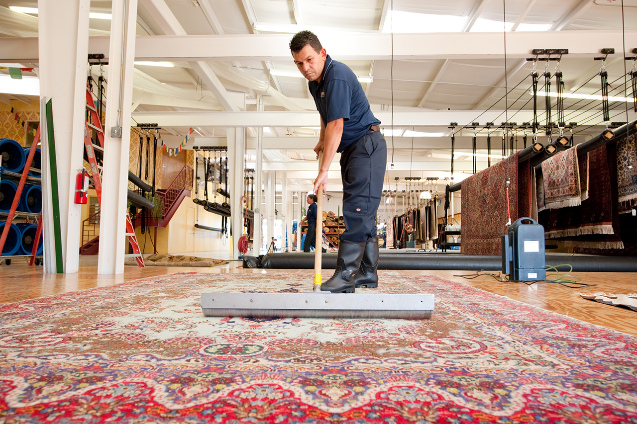 Oriental Rug Care - Holly Peters