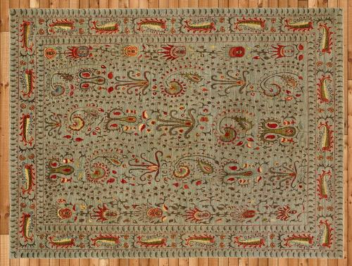 Holly-Peters-Transitional-Rugs-4-Wool-and-Silk-Suzani-Light-Blue